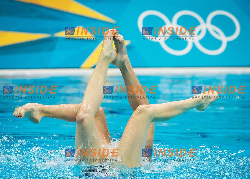 Ischenko - Romashina Russia RUS.Synchronized Swimming duet Final - gold medal.London 2012 Olympics - Olimpiadi Londra 2012.day 12 Aug.7.Photo G.Scala/Deepbluemedia.eu/Insidefoto