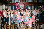 Clare Walsh from Shanakill, Tralee celebrating her 30th birthday with family and friends on Sunday night in the Meadowlands