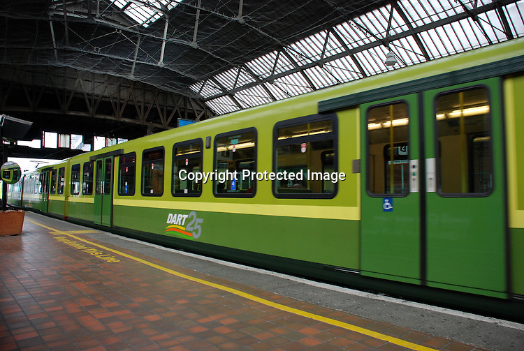 The Dart, Pearse Station, Dublin