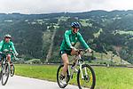 09.07.2019, Zell am Ziller, AUT, TL Werder Bremen Zell am Ziller / Zillertal Tag 05<br /> <br /> im Bild<br /> Niklas Wiemann (Werder Bremen II #03) <br /> auf Mountainbike bei Radtour im Zillertal <br /> <br /> Foto © nordphoto / Ewert