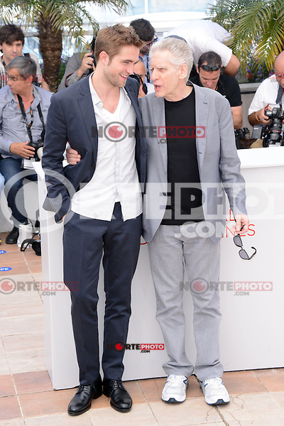"Robert Pattinson and David Cronenberg attending the ""Cosmopolis"" Photocall during the 65th Annual Cannes International Film Festival in Cannes, France, 25.05.2012...Credit: Timm/face to face /MediaPunch Inc. ***FOR USA ONLY***"