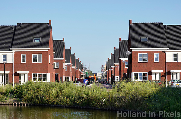 Nederland Amsterdam -  juli 2018. Nieuwbouw in de Bijlmer.  Foto Berlinda van Dam /  Hollandse Hoogte