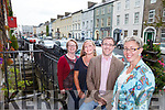 Kerry County Council in association with the Heritage Council and Tralee Chamber Alliance will host a free public seminar tomorrow (Friday) on the future of Denny Street, Tralee. Pictured were: Helen O'Carroll (Kerry County Museum), Louise O'Donnell (Denny St), John Drummey (Tralee Chamber Alliance) and Victoria McCarthy (Architectural Conservation Officer, KCC).