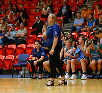 29th November 2019; Bendat Basketball Centre, Perth, Western Australia, Australia; Womens National Basketball League Australia, Perth Lynx versus Southside Flyers; Cheryl Chambers head coach of the Southside Flyers on the side line - Editorial Use