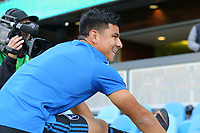 San Jose, CA - Saturday May 05, 2018: Nick Lima during a Major League Soccer (MLS) match between the San Jose Earthquakes and the Portland Timbers at Avaya Stadium.