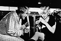 Some Like It Hot (1959)<br /> Marilyn Monroe &amp; Jack Lemmon<br /> *Filmstill - Editorial Use Only*<br /> CAP/KFS<br /> Image supplied by Capital Pictures