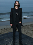 MALIBU, LOS ANGELES, CALIFORNIA, USA - JUNE 06: Actor Keanu Reeves arrives at the Saint Laurent Mens Spring Summer 20 Show held at Paradise Cove Beach on June 6, 2019 in Malibu, Los Angeles, California, United States. (Photo by Xavier Collin/Image Press Agency)