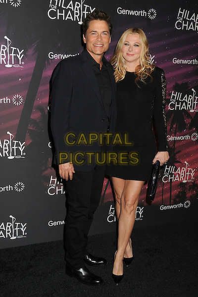 17 October 2014 - Hollywood, California - Rob Lowe, Sheryl Berkoff. 3rd Annual Hilarity For Charity Los Angeles Variety Show held at the Hollywood Palladium.  <br /> CAP/ADM/BP<br /> &copy;Byron Purvis/AdMedia/Capital Pictures
