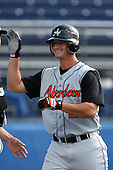 July 14th 2008:  Rob Widlansky of the Aberdeen Ironbirds, Class-A affiliate of the Baltimore Orioles, during a game at Dwyer Stadium in Batavia, NY.  Photo by:  Mike Janes/Four Seam Images