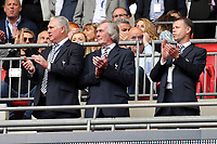 Spurs legends Paul Miller, Pat Jennings and Davi Howells during Tottenham Hotspur vs Leicester City, Premier League Football at Wembley Stadium on 13th May 2018