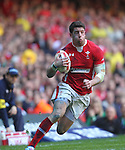 Alex Cuthbert.2012 RBS 6 Nations.Wales v Italy.Millennium Stadium..10.03.12.Credit: STEVE POPE-Sportingwales