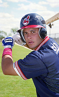 Cleveland Indians Nick Sued during Spring Training 1993 at Chain of Lakes Park in Winter Haven, Florida.  (MJA/Four Seam Images)