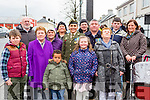 Corporal Breda O'Sullivan with her family members at the Rathmore 1916 celebrations  on Sunday front l-r: Dora, O'Sullivan, Mary O'Sullivan, Ethan Abu, Shannon O'sullivan, kathlee O'Keeffe. Back l-r: Peter Norman, Breda Roche, Retired Private Timmy O'Sullivan, eileen O'riordan, Niall fleming, Daniel Fleming and Catriona Plamer