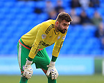 Ipswich's Bartosz Bialkowski in action during the Sky Bet Championship League match at The Cardiff City Stadium.  Photo credit should read: David Klein/Sportimage