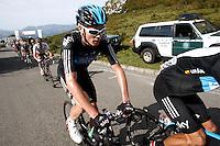 Christopher Froome during the stage of La Vuelta 2012 between La Robla and Lagos de Covadonga.September 2,2012. (ALTERPHOTOS/Paola Otero) /NortePhoto.com<br /> <br /> **CREDITO*OBLIGATORIO** <br /> *No*Venta*A*Terceros*<br /> *No*Sale*So*third*<br /> *** No*Se*Permite*Hacer*Archivo**<br /> *No*Sale*So*third*