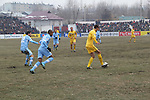 Alay Osh vs Riffa during the 2014 AFC Cup 2015 Group D match on February 26, 2014 at the Suyumbayev Stadium in Osh, Kyrgyzstan. Photo by Faridun Saliev / Lagardère Sports