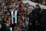 A bloodied Joelinton of Newcastle United during the Premier League match at Villa Park, Birmingham. Picture date: 25th November 2019. Picture credit should read: Darren Staples/Sportimage