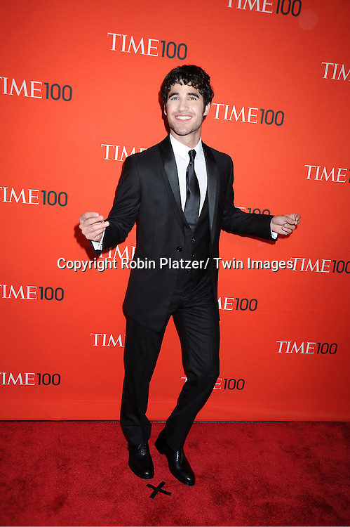 Darren Criss attending The Time 100 Most Influential People in the World Gala on April 26, 2011 at Frederick P Rose Hall in The Time Warner Center in New York City.