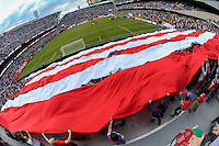 Chicago, IL - Tuesday June 07, 2016:  USA supporters section during a Copa America Centenario Group A match between United States (USA) and Costa Rica (CRC) at Soldier Field.