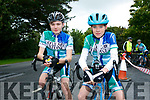 At the The Ring of North Kerry Cycle starting at FINUGE GAA on Saturday were Thomas Gould and Ronan Leahy
