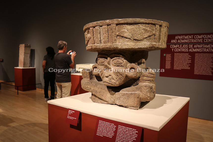 Teotihuacan: City of Water, City of Fire exhibition at