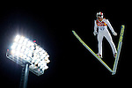 Gregor Schlierenzauer of Austria during the Men's Normal Hill Individual of the 2014 Sochi Olympic Winter Games at Russki Gorki Ski Juming Center on February 9, 2014 in Sochi, Russia. Photo by Victor Fraile / Power Sport Images
