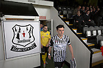 Home captain Archie MacPhee and his opposite number Ian McFarland leading the teams out at Borough Briggs, home to Elgin City, on the day they played SPFL2 newcomers Edinburgh City. Elgin City were a former Highland League club who were elected to the Scottish League in 2000, whereas Edinburgh City became the first club to gain promotion to the League by winning the Lowland League title and subsequent play-off matches in 2015-16. This match, Edinburgh City's first away Scottish League match since 1949, ended in a 3-0 defeat, watched by a crowd of 610.