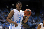 30 December 2014: North Carolina's Kennedy Meeks. The University of North Carolina Tar Heels played the College of William & Mary Tribe in an NCAA Division I Men's basketball game at the Dean E. Smith Center in Chapel Hill, North Carolina. UNC won the game 86-64.