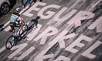 Hubert Dupont (FRA/AG2R-La Mondiale) up the final climb to Pratonevoso<br /> <br /> stage 18: Abbiategrasso - Pratonevoso (196km)<br /> 101th Giro d'Italia 2018