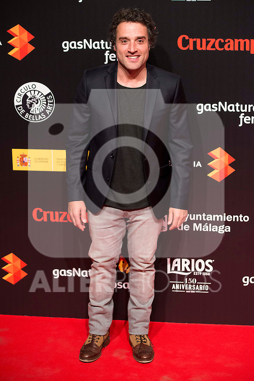 Daniel Guzman attends to the cocktail presentation of the XIX Malaga Film Festival at Circulo de Bellas Artes in Madrid. April 06, 2016. (ALTERPHOTOS/Borja B.Hojas)