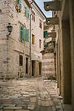 MONTENEGRO, Bay of Kotor, Cobblestone Street in Old Town Kotor, Ben M Thomas