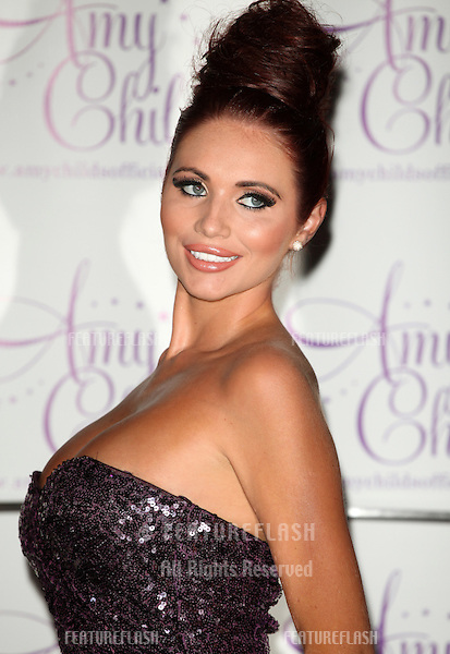 Amy Childs launches her perfume 'Amy Childs' at Aura, London. 15/08/2012 Picture by: Alexandra Glen / Featureflash