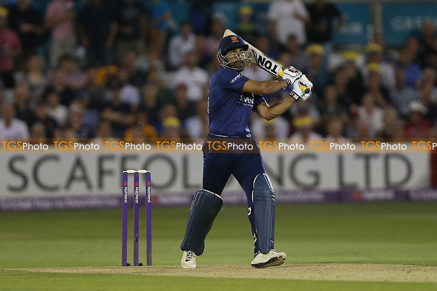 Ravi Bopara hits six runs for Essex during Essex Eagles vs Surrey, NatWest T20 Blast Cricket at The Cloudfm County Ground on 7th July 2017