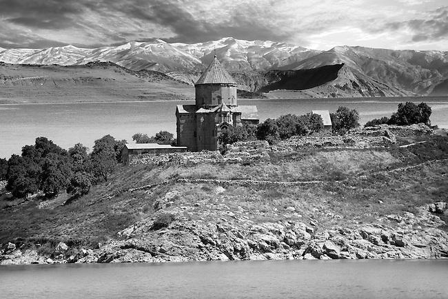 10th century Armenian Orthodox Cathedral of the Holy Cross on Akdamar Island, Lake Van Turkey 88