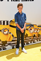 Jacob Buster at the world premiere for &quot;Despicable Me 3&quot; at the Shrine Auditorium, Los Angeles, USA 24 June  2017<br /> Picture: Paul Smith/Featureflash/SilverHub 0208 004 5359 sales@silverhubmedia.com
