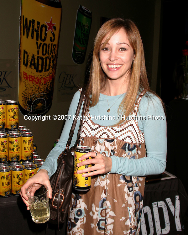 Autumn Reeser.GBK Productions Golden Globe Gifting Suite.Friar's Club.Beverly Hills   CA.January 13, 2007.©2007 Kathy Hutchins / Hutchins Photo.