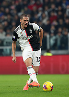 Calcio, Serie A: Juventus - Milan, Turin, Allianz Stadium, November 10, 2019.<br /> Juventus' captain Leonardo Bonucci in action during the Italian Serie A football match between Juventus and Milan at the Allianz stadium in Turin, November 10, 2019.<br /> UPDATE IMAGES PRESS/Isabella Bonotto