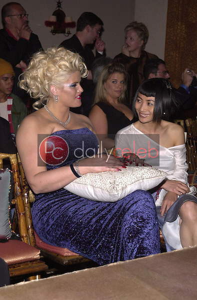 Anna Nicole Smith and Bai Ling