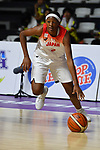 /Stephanie Mawuli (JPN), <br /> AUGUST 17, 2018 - Basketball : Women's Qualification round match between Japan 73-105 China at Gelora Bung Karno Basket Hall A during the 2018 Jakarta Palembang Asian Games in Jakarta, Indonesia. (Photo by MATSUO.K/AFLO SPORT)