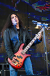 Mike Inez of Alice in Chains performs during the 2013 Rock On The Range festival at Columbus Crew Stadium in Columbus, Ohio.