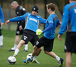 Fraser Aird and Robbie Crawford