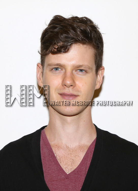 Peter Mark Kendall attends the first day rehearsal for the New Group production of 'Mercury Fur' at the New 42nd Street Studios on July 6, 2015 in New York City.