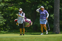 Lizette Salas (USA) looks over the green on 1 during round 4 of the U.S. Women's Open Championship, Shoal Creek Country Club, at Birmingham, Alabama, USA. 6/3/2018.<br /> Picture: Golffile | Ken Murray<br /> <br /> All photo usage must carry mandatory copyright credit (&copy; Golffile | Ken Murray)