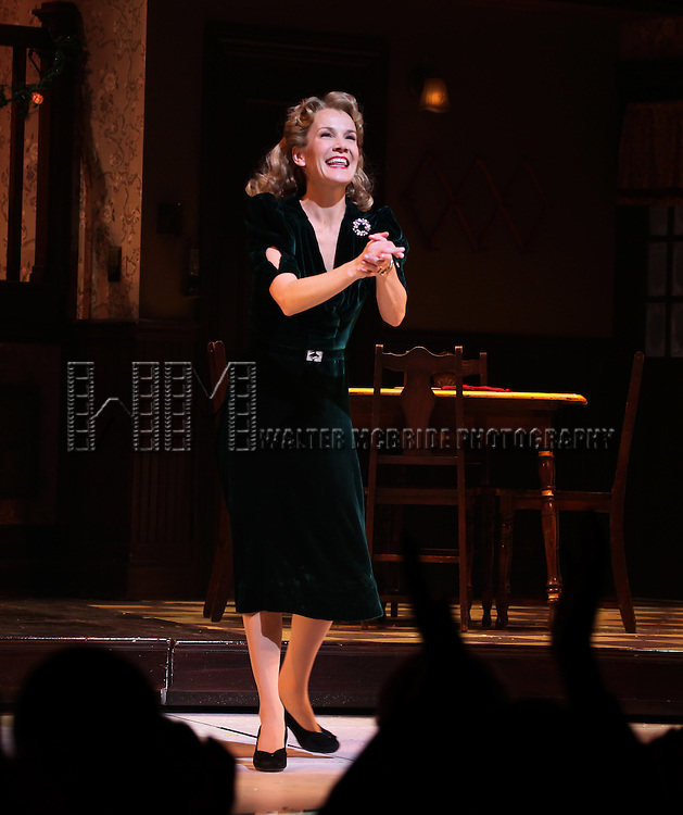 Erin Dilly during the Broadway Opening Night Performance Curtain Call for 'A Christmas Story - The Musical'  at the Lunt Fontanne Theatre in New York City on 11/19/2012.