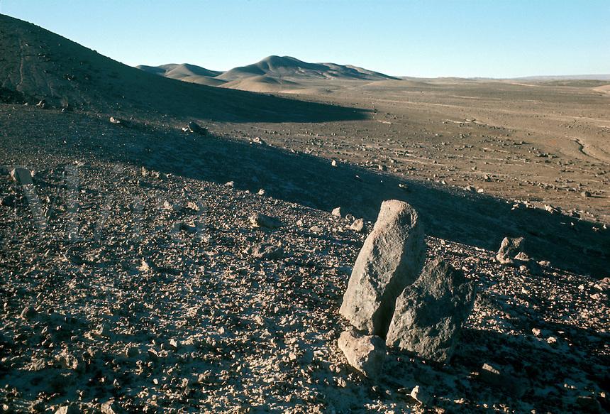 Atacama Desert near Baquedano in Antofagasta Province, northern Chile