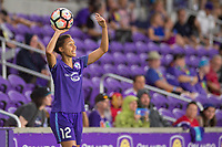 Orlando, FL - Saturday June 03, 2017: Kristen Edmonds during a regular season National Women's Soccer League (NWSL) match between the Orlando Pride and the Boston Breakers at Orlando City Stadium.