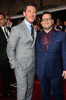 Luke Evans &amp; Josh Gad at the premiere for Disney's &quot;Beauty and the Beast&quot; at El Capitan Theatre, Hollywood. Los Angeles, USA 02 March  2017<br /> Picture: Paul Smith/Featureflash/SilverHub 0208 004 5359 sales@silverhubmedia.com