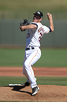 Peoria Javelinas pitcher Matt Heidenreich (23), of the Houston Astros organization, during an Arizona Fall League game against the Mesa Solar Sox on October 16, 2013 at Surprise Stadium in Surprise, Arizona.  Mesa defeated Peoria 3-1.  (Mike Janes/Four Seam Images)