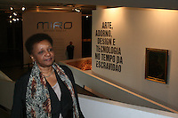 ATENÇÃO EDITOR: FOTO EMBARGADA PARA VEÍCULOS INTERNACIONAIS. – SÃO PAULO - SP –  20 DE NOVEMBRO 2012. No dia em que se comemora o Dia Nacional de Zumbi e da Consciência Negra, o Ministério da Cultura (MinC) lança editais voltados aos produtores e criadores negros, em cerimônia no Museu Afro Brasil, no Ibirapuera, em São Paulo. FOTO: MAURICIO CAMARGO / BRAZIL PHOTO PRESS.