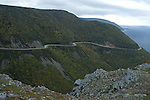 Cabot Trail (Road), Scenic Vista from Skyline Trail, Cape Breton Highlands National Park, Nova Scotia, Canada